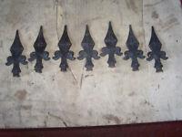 gate top rail heads