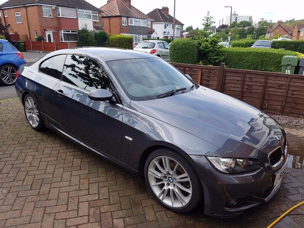 2007 bmw 320i m sport coupe grey in rubery west. Black Bedroom Furniture Sets. Home Design Ideas