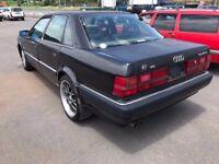 1993 AUDI V8 4.2 QUATTRO TYP 4C, 280 BHP FRESH JAPANESE IMPORT VERY RARE CLASSIC LEFT HAND DRIVE