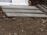 3 x 6ft x 1ft depth gravel boards for sale