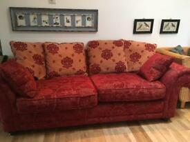 Pair of Tapestry Sofas