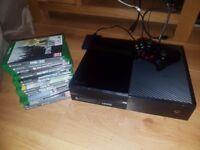 Xbox one kinect, games & wireless heaphones