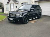 2007 LAND ROVER RANGE ROVER SPORT 2.7 REVERE LONDON EDITION (X5 Q7)