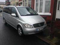 2010 10reg Mercedes Viano 2.2 Cdi Automatic Ambient XLWB 8 Seater