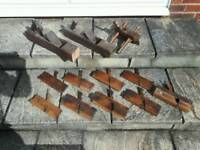 Wood planes - approx 1940's