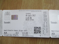 4x Good Upper Slip tickets - TURANDOT, The ROYAL OPERA HOUSE, Sun 9th July 6.30 p.m. £60 total