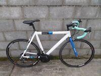 mens road bike 700c barracuda