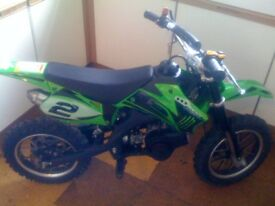 2012 FunBikes Cobra 50cc Kids Mini Dirt Bike for sale