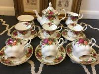 Royal Albert Old Country Rose Tea Service