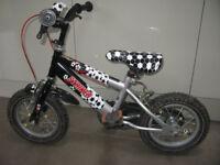 raleigh bike, size 12, first bike with stabilizer