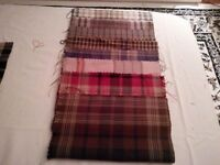 Tartan Craft Samples x 9