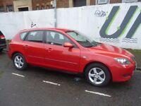 Mazda 3 TS,1.6 petrol 5 dr hatchback,full MOT,nice clean tidy car,runs and drives very well,YG54DXK