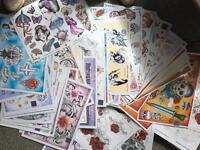 Tattoo Design Flash Cards.