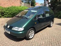 VW Sharan 1.9tdi wheelchair accessible vehicle economical reliable mot