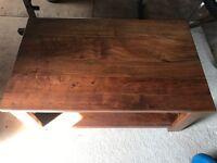 Brand new walnut coffee table