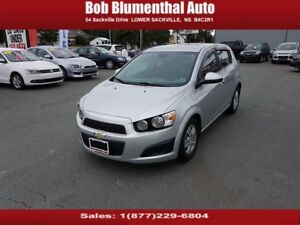 2012 Chevrolet Sonic LT Auto, BT, Cruise, Htd Seats ($54 week...