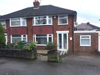 3 Bed House, Heald Green, newly renovated, close to Hospital, airport, all amenities, M60, parking