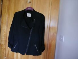 Black summer blazer, size 12- brand New