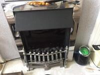 Electric insert a fire