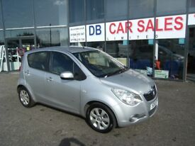 2010 10 VAUXHALL AGILA 1.2 DESIGN 5D 85 BHP **** GUARANTEED FINANCE **** PART EX WELCOME ****