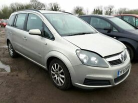2006 VAUXHALL ZAFIRA CLUB 16V NOW BREAKING FOR PARTS