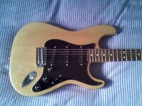 Fender Stratocaster in great condition made in Mexico.