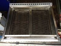fimar double burner chargrill