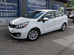 2012 KIA Rio A/C + Bancs Chauffants + Bluetooth