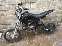 BIG WHEEL 140cc 4 speed manual X-sport pitbike