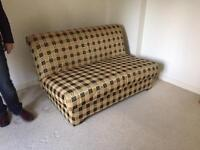 Bed settee - double, comfortable, easy to pull out