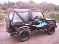 Suzuki Samurai sport 1992 original genuine condition.