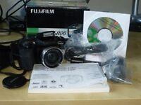 Digital Camera Fuji Finepix S5800 boxed with all contents.