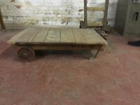 Vintage Wheeled Pallet