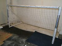 Robust Olympus goal post and net 8'w x 4'h