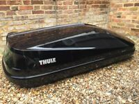 Thule Roof box and Wing Bars