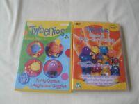 Tweenies DVD's x 2