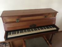 Vintage Broadwood Piano with Piano Stool