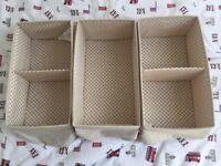 Ikea, storage boxes