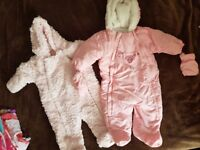 girls wintersuit 3-6 months