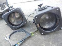 Strand Patt 803 Fresnel Spotlights (Pair)