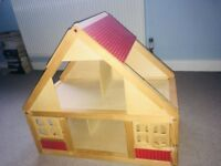 Dolls house - wooden chalet