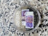 British Banknote Coin