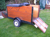 5x3 camping trailer