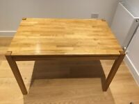 Solid Oak 4 Seater Dining Table