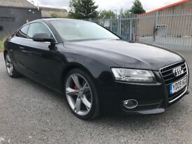 AUDI A5 3.0 (240) Sport TDI Quattro Tiptronic ✿ TOP SPECIFICATIONS ✿ FSH ✿ 1 YEAR MOT ✿