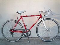 "(2190) 24"" 45cm EMMELLE BOYS GIRLS JUNIOR VINTAGE ROAD BIKE RACER RACING Age:10-14 Height: 142-162cm"