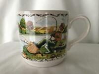 Staffordshire Tableware Fishing Mug