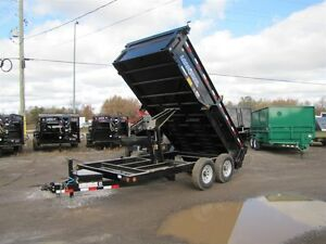 2015 Load Trail 7TON-14' DUMP TRAILER Peterborough Peterborough Area image 2