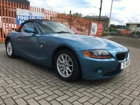 2004 (54) BMW Z4 2.5i SE Roadster / 33K FSH / 12 Months MOT / 6 Months Warranty / Full Leather