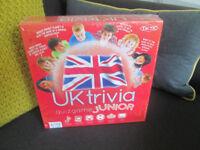 BRAND NEW (STILL SEALED) UK TRIVIA JUNIOR QUIZ GAME